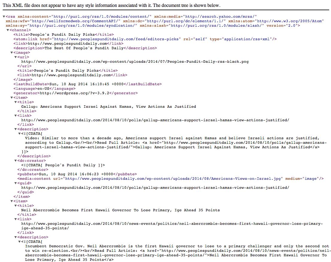 Editors' Picks RSS Feed Generator | WP News Plugins