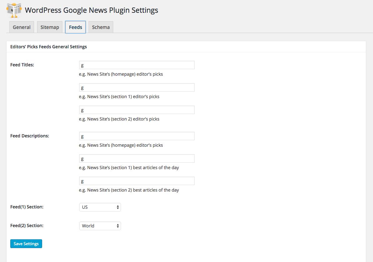 WordPress Google News Plugin Version 2 7 5 Now Available