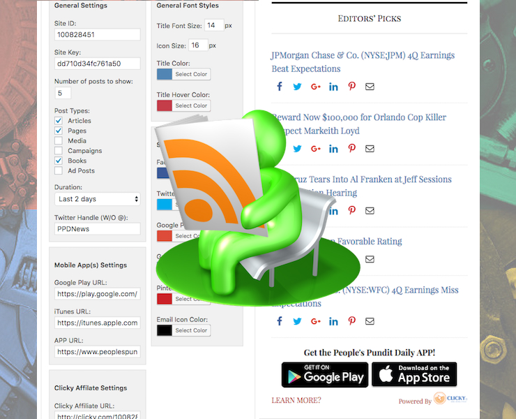 Editors Picks Top Stories Widget for Clicky Plugin Featured Image